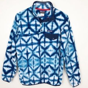 Patagonia | Rare Blue and White Tye Die Pullover